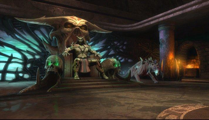 Shao Kahn s Throne Roo...