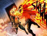 Issue -3 of the Mortal Kombat X comic Scorpion