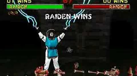 Mortal Kombat II - Fatality 2 - Raiden