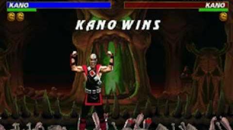 Mortal Kombat Trilogy - Brutality - Kano