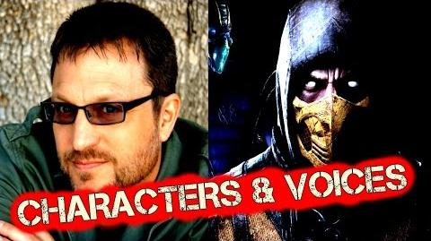 Mortal Kombat X 10 Characters & Voice Actors With Cutscenes