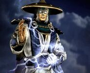 Raiden the Elder God of Thunder