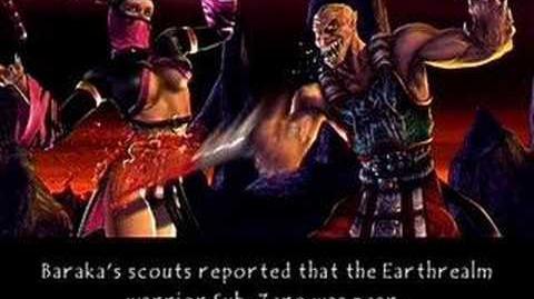 Mortal Kombat- Deception - Baraka's Ending