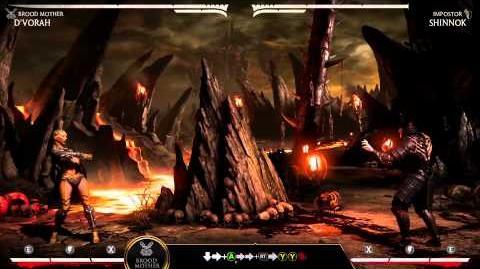 Mortal Kombat X Kombat Klass - D'Vorah