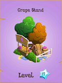 Grape Stand Store Locked