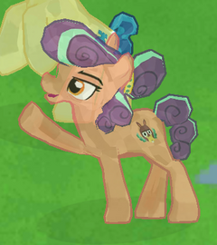 Stubborn Crystal Pony image