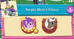 Purple Wave's Palace residents