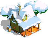 Braeburn's Shack Winter