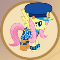 Adm. Fluttershy Outfit