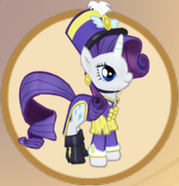 Lt. Rarity Outfit