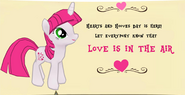 Lovestruck Hearts and Hooves day promo