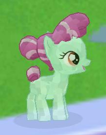 Aqua Crystal Foal image
