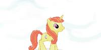 Fashionable Unicorn