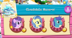 Cloudsdale Mane-or residents