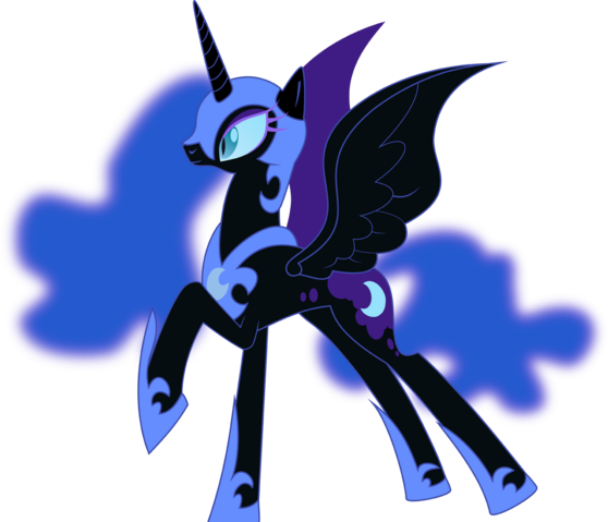 File:Nightmare Moon vector.png