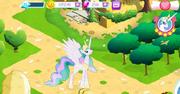 Princess Celestia in-game