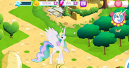 Princess Celestia in-game