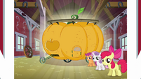 Apple Bloom showing Babs summer float S3E4