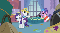Rarity grin S2E05