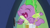 Spike shouting in anger S6E11