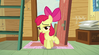 Apple Bloom being coy S5E4