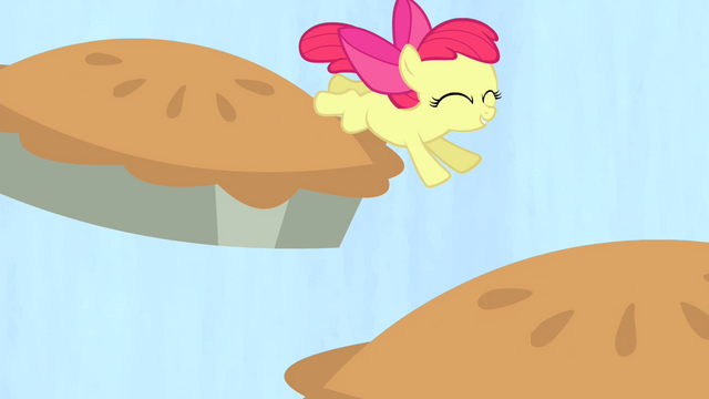 File:Apple Bloom jumping on pies S4E17.png