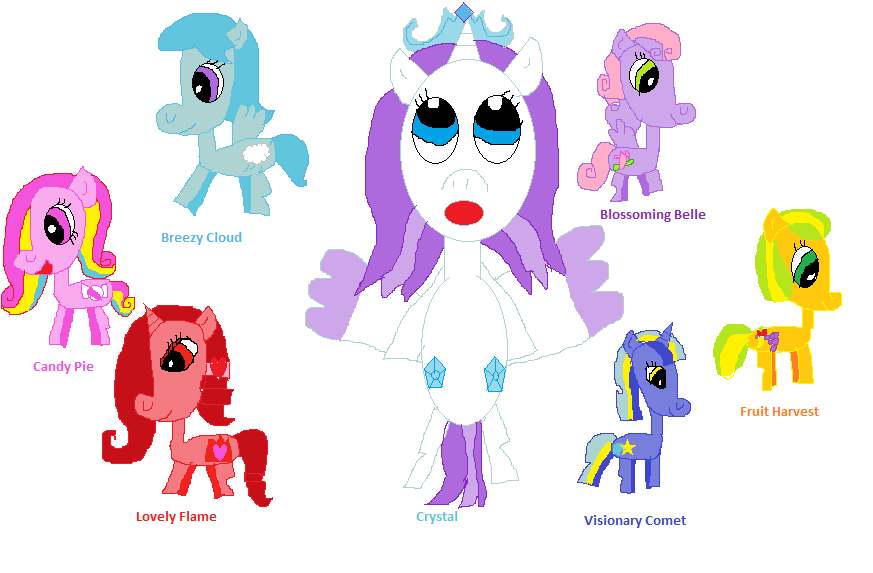 image fanmade all of my ocspng my little pony