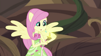 Fluttershy acquires the yellow geode EG4
