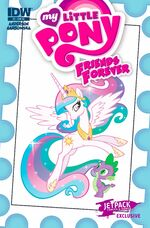 MLP Friends Forever Issue 3 Jetpack Cover A
