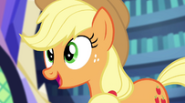 """Applejack """"we could join you this time around"""" EG2"""