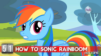 "Hot Minute with Rainbow Dash ""when you need to save your friends"""