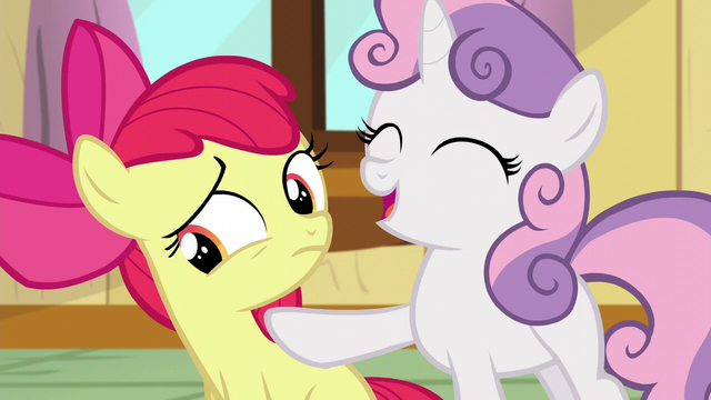 File:Sweetie Belle points at Apple Bloom S5E04.png