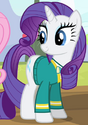 Rarity Pony Tones attire ID S4E14