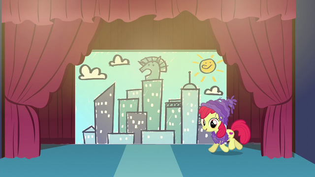 File:Apple Bloom trots onto the stage S6E4.png