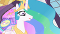 Celestia 'Good luck, my little ponies' S2E01.png