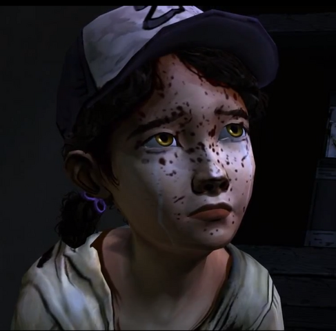 File:The walking dead Clementine crying.png
