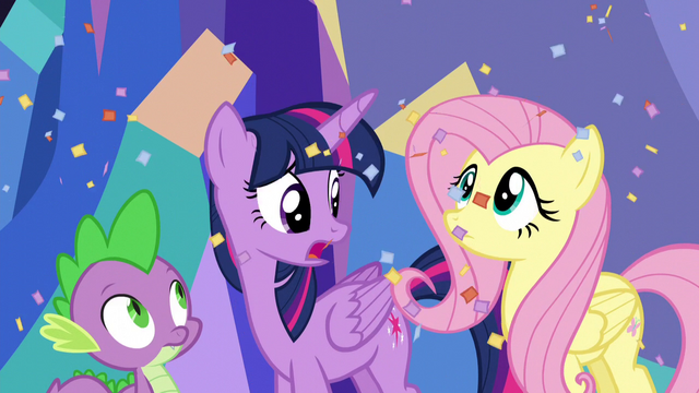"""File:Twilight Sparkle """"what was that?!"""" S5E3.png"""