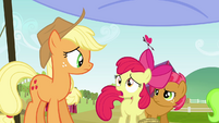 Apple Bloom 'There's more?' S3E08