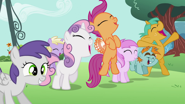 File:Fillies cheering S2E6.png