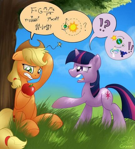 File:FANMADE Applejack's Logic After Getted Hit in the Head by an Apple.jpg