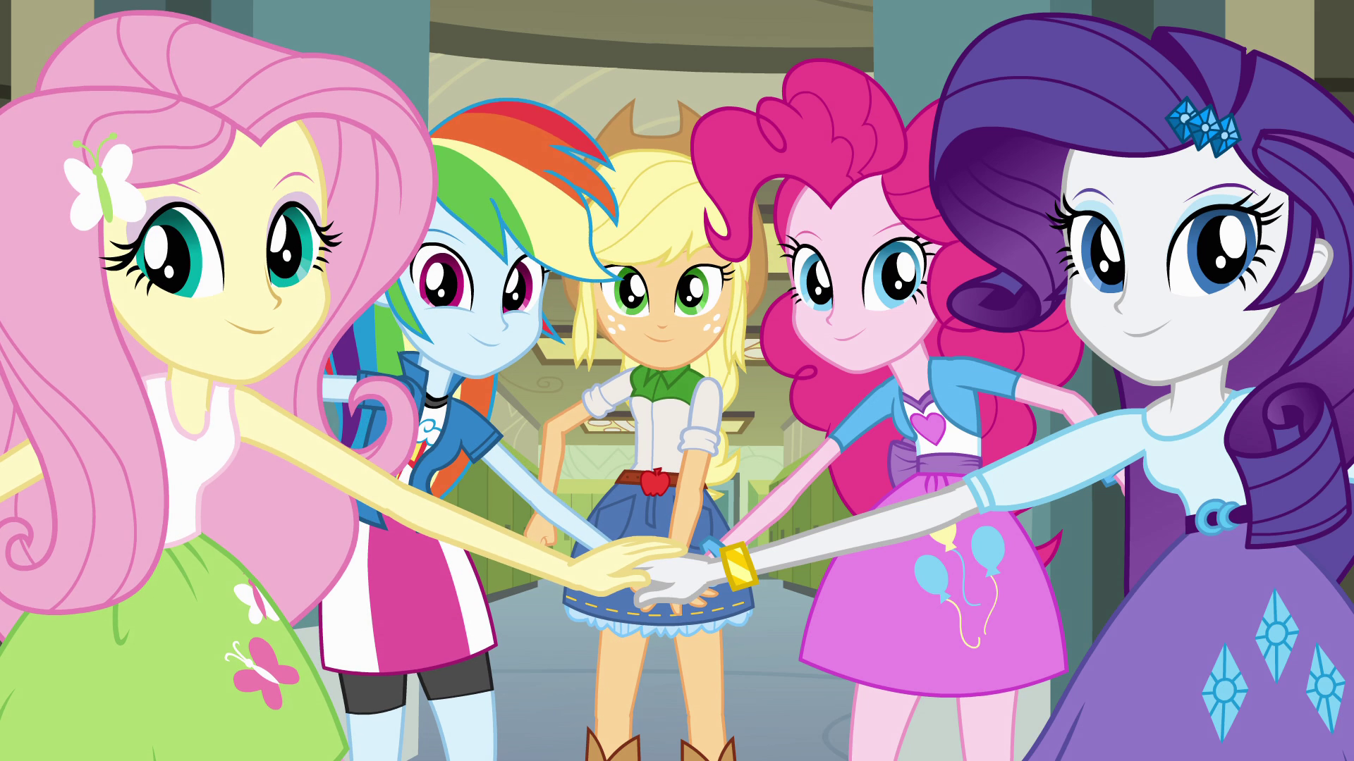Image Main 5 Hands In The Middle Eg Png My Little Pony