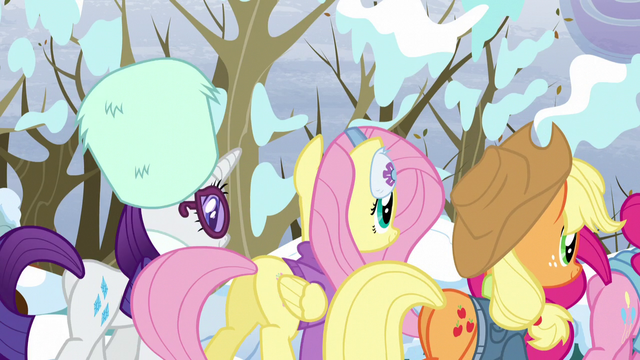 File:Rainbow Dash's friends walking away S5E5.png