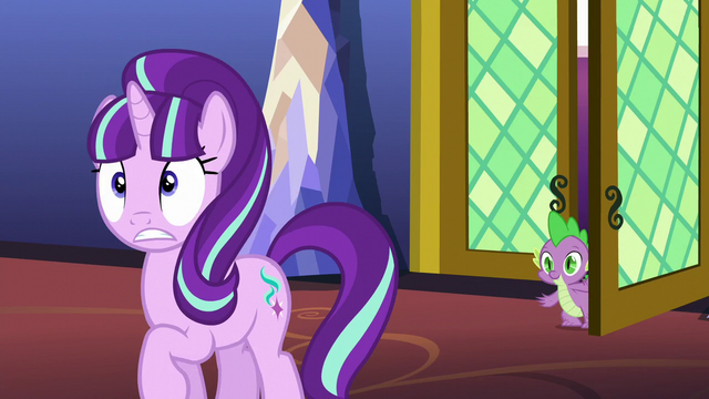 File:Starlight Glimmer surprised by door sound S5E26.png