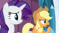 "AJ ""But what about when King Sombra ruled the Crystal Empire"" S6E2"