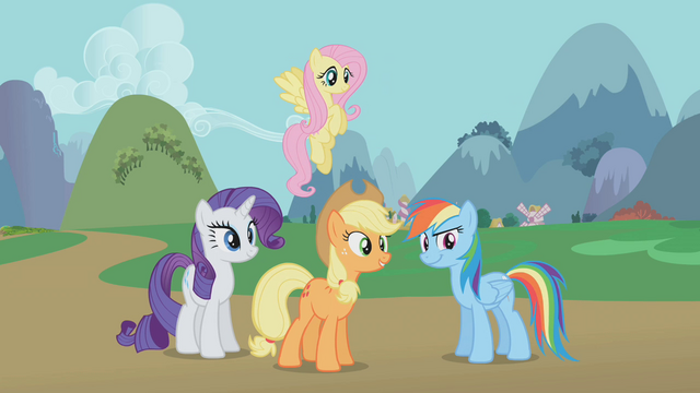 "File:Applejack ""you knew what those critters were"" S1E10.png"