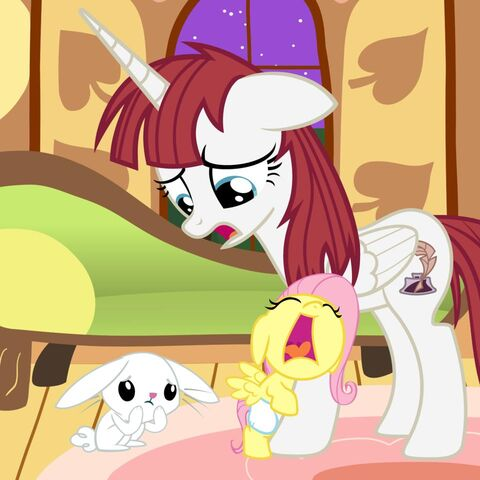 File:FANMADE Fausticorn and Fluttershy.jpg