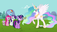 Princess Celestia where is Fluttershy S3E10