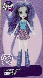 Rarity Equestria Girls doll pamphlet