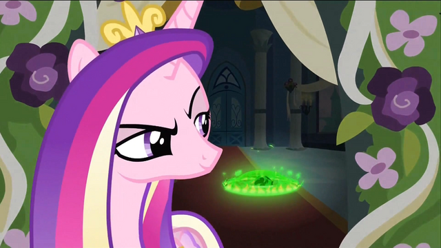 File:Cadance looking behind S2E25.png