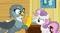 """Gabby """"Rainbow Dash asked me to pick up"""" S6E19"""
